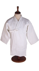 Kendo Gi White Double Layer Pro